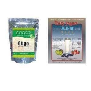 100%異麥芽寡糖粉1000g+加拿大原裝30g克菲爾優酪乳酸菌粉 全臺灣最低價