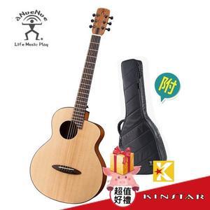【金聲樂器】aNueNue M10 羽毛鳥 36吋小吉他 雲杉面板 桃花心木側背板 面單板 附原廠袋