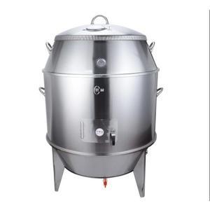 雙層烤鴨爐燒鵝叉燒 果木炭燒鴨雞烤乳豬吊爐脆皮烤肉XW