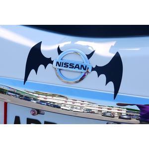 個性改裝貼 蝙蝠翅膀 獨特風格 LOGO貼紙 立體貼紙 車身貼紙 福斯 狗夫 GOLF POLO TIGUAN