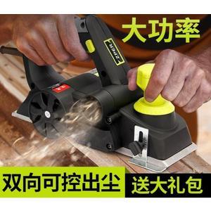 電刨 電刨家用小型多功能手提臺式木工刨木工工具電動刨子壓刨刀機