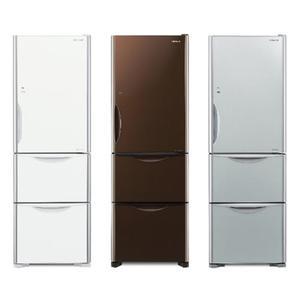 日立 HITACHI 394公升三門變頻冰箱 RG41B