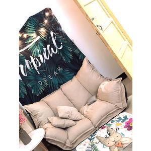 懶人沙發榻榻米折疊沙發床兩用雙人日式多功能小戶型臥室小沙發椅