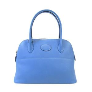 HERMES2T Blue Paradise天堂藍手提肩背柏莉包Bolide 27 X刻Swift 9a6b461ed3f0c