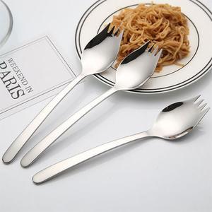 304不鏽鋼二合一叉匙 叉匙 湯匙 叉子 叉匙合一 餐具 304 不鏽鋼 不銹鋼 環保 野餐 外食族必備