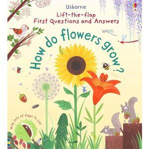 【科學操作書】HOW DO FLOWERS GROW? / 硬頁精裝