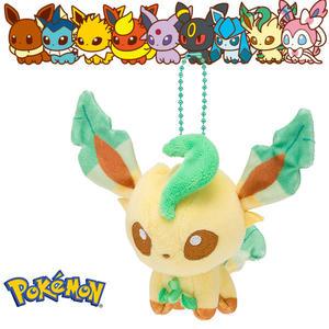 葉伊布 葉精靈 娃娃吊飾 玩偶 Q版 Pokemon 寶可夢 神奇寶貝 日本正品 該該貝比日本精品 ☆