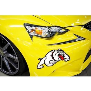 汽車貼紙 優飾卡惡狗車貼前后保險杠輪眉側門遮蓋擋劃痕裝飾汽車貼紙反光貼 宜室家居