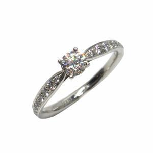 Tiffany & Co 蒂芬妮 Harmony系列0.26克拉鑽石鉑金鑲鑽戒指 【二手名牌 BRAND OFF】