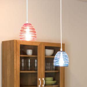 [TAMAUYRA]時尚繽紛水氣球造型琉璃風吊燈~TML愛媛家居藍色