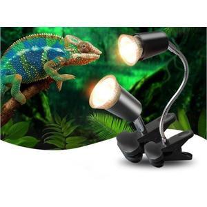 【居家優品】烏龜曬背燈uva uvb全光譜太陽加熱燈泡加溫保溫補鈣殺菌套裝迷你