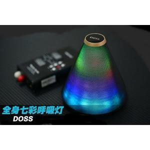 經典數位~DOSS~獨特72顆LED無線藍芽喇叭七彩呼吸燈~四段光影變化~現貨~一年保固