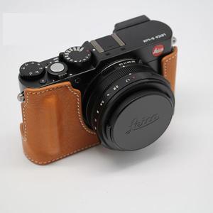 相機套Leica/徠卡D-LUX typ109相機原裝皮套皮包 萊卡D-LUX7皮質包 半套