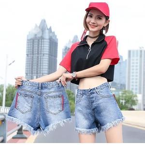 59948ecaccd6 促銷價不退換牛仔短褲熱褲基本款S-XL/31077/