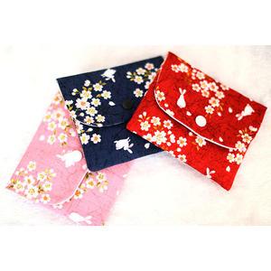 衛生棉姨媽巾日本和風衛生巾收納包收納包