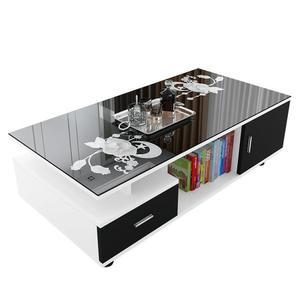 茶几簡約簡易創意小茶几客廳歐式鋼化玻璃小戶型多功能方形小桌子【快速出貨】