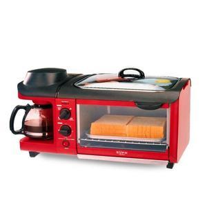 早餐機 Eupa/燦坤 TSK-2871早餐機家用烤箱面包機煮咖啡機鐵板燒三合一 MKS免運