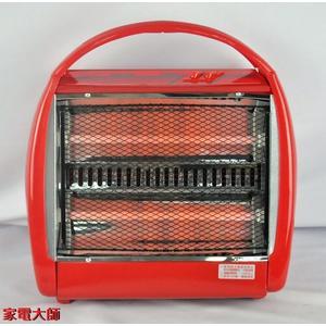 家電大師 華冠 手提式石英管電暖器 CT-808 【全新】