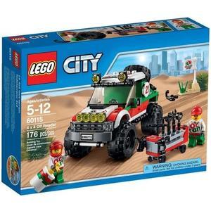 【LEGO 樂高積木】City 城市系列 - 越野車 LT-60115