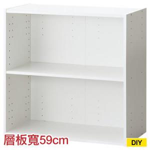 【DIY】61cm彩色櫃 COLOBO WIDE 雙層櫃 WH NITORI宜得利家居