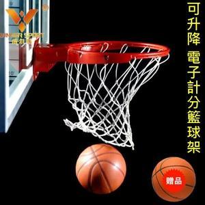 【塔克】電子 計分 計時 掛門式籃球架 NBA籃球架 自動計分籃球架 得分音效 籃球框 配備齊全