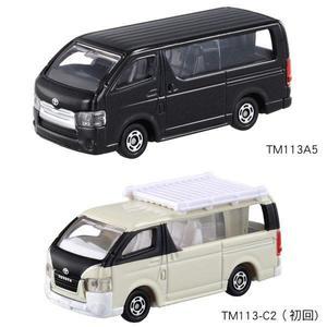 TOMICA NO.113 豐田Hiace+初回 2台 TM113A5+TM113-C2多美小汽車