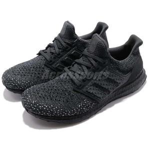 c72516eb8 adidas 慢跑鞋UltraBOOST Clima Carbon 黑全黑雪花透氣避震回饋中底
