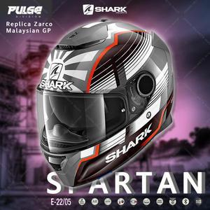 [中壢安信]SHARK SPARTAN Replica Zarco Malaysian GP 安全帽HE3458 AWR