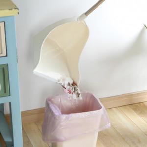 ✭慢思行✭【Z87】掃把大簸箕組合兩件套 家用 套裝 居家 地板 清潔 笤帚 掃頭髮 軟毛掃帚