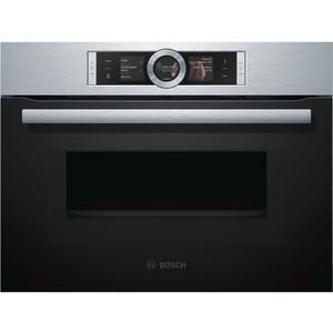 【甄禾家電】BOSCH 博世 Serie8 CMG636BS1, 不鏽鋼色系 複合式微波烤箱 60CM 觸控螢