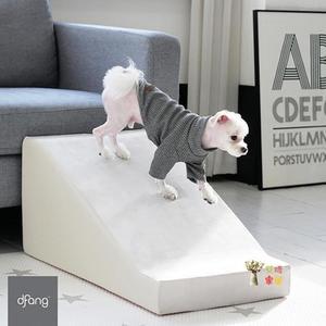 寵物樓梯 韓國寵物樓梯貓狗保護關節髕骨扭傷脫位可拆洗上床斜坡梯子台階T