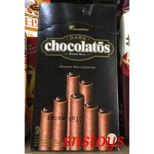 sns 古早味 懷舊零食 餅乾 黑雪茄巧克力威化捲 威化捲 巧克力捲 320公克