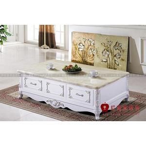 [紅蘋果傢俱] BE- CJ366 歐式美式系列 茶几 天然大理石餐桌 人造大理石餐桌 桌子 數千坪展示