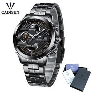 CADISEN 紳士男錶 卡迪森防水石英手錶 男錶女錶對錶 機械錶 石英錶