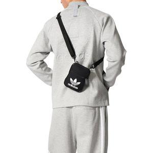 ISNEAKERS ADIDAS Trefoil Festival Bag 三葉草 側背包 小肩包 黑 BK6730 配件