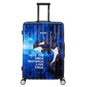 【CENTURION百夫長】拉鍊款29吋U_C74虎鯨行李箱
