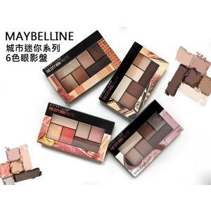 【彤彤小舖】Maybelline The City Mini 城市迷你6色眼影盤 0.14oz / 4g 原裝進口