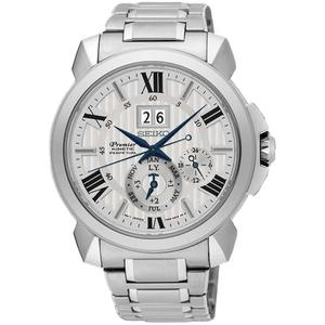 SEIKO 精工錶 Premier KINETIC 人動電能萬年曆腕錶 SNP139J1 熱賣中!