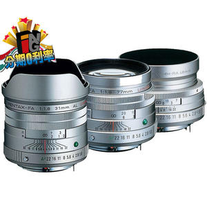 【24期0利率】PENTAX 三公主 銀色鏡頭組 DA 31mm f1.8 + 43mm f1.9 + 77mm f1.8 富堃公司貨