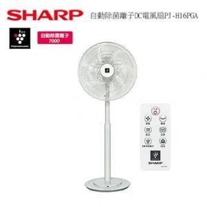 ★牌面品★SHARP夏普 16吋自動除菌離子DC電風扇 PJ-H16PGA **免運費**