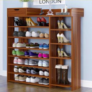 八層80cm鞋架  鞋櫃 木製鞋櫃 鞋架鞋櫃《Life Beauty》