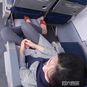 充氣腳墊 坐長途飛機上便攜充氣吊腳墊墊腳足踏飛行枕頭旅行u型枕睡覺神器 第六空間