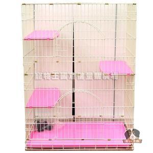 【寵物王國】 3*2*4尺靜電雙層貓籠