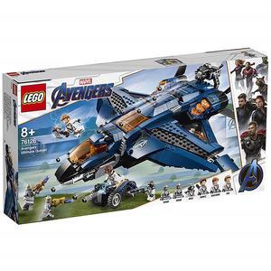 LEGO 樂高 Marvel 復仇者聯盟 76126 Avengers Ultimate Quinjet 【鯊玩具Toy Shark】