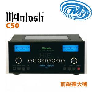 《麥士音響》 McIntosh 前級擴大機 C50