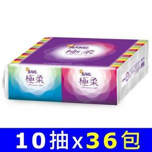 【五月花】極柔頂級袖珍包面紙 (10抽x36包)/袋