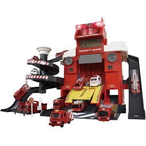 TOMICA遙控聲光消防局(不附車)