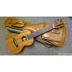 【金聲樂器】仿皮革 高質感 烏克麗麗 雙肩 琴袋 23吋
