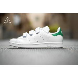 ISNEAKERS Adidas STAN SMITH CF TF 魔鬼氈 白綠 綠尾 S75187 s82702