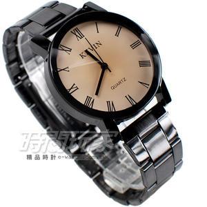 KEVIN 簡單羅馬時刻 時尚腕錶 IP黑電鍍 KEV2068羅馬大 羅馬數字時刻 文青/中性/男錶/女錶/對錶 都適合